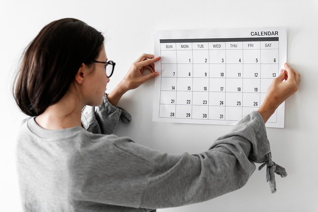 7 passos para criar um calendário editorial para blog